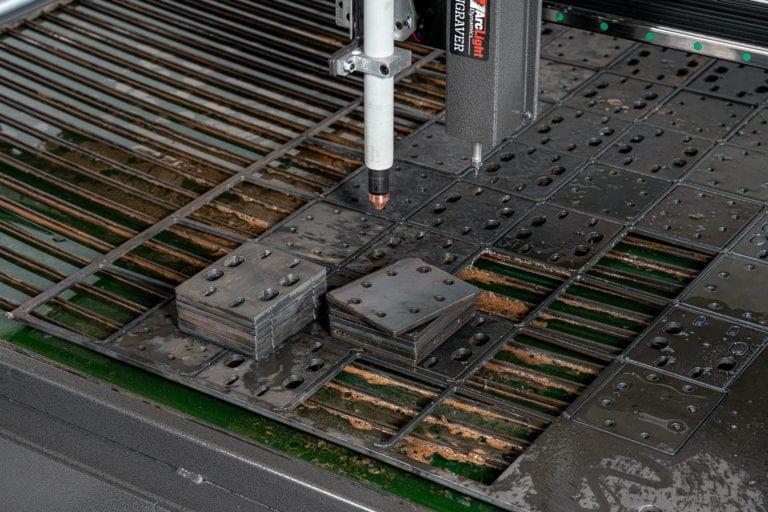 Arclight Dynamics CNC Plasma Table cut parts